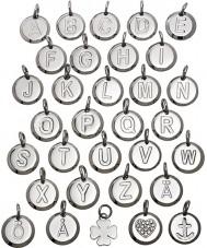 Edblad 116130237-W Charmentity w pequeno pingente de aço de prata