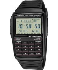 Casio DBC-32-1AES coleção Mens calculadora preta relógio com Telememo