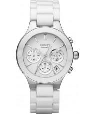 DKNY NY4912 relógio pulseira de cerâmica câmaras feminina Branco