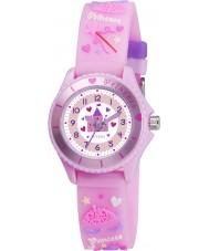 Tikkers TK0036 Meninas rosa fada princesa relógio