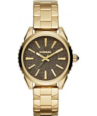 Diesel DZ5474 Ladies ouro nuki relógio banhado