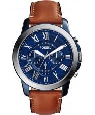 Fossil FS5151 Mens conceder relógio cronógrafo marrom