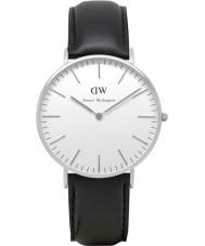 Daniel Wellington DW00100053 Ladies clássico Sheffield relógio 36 milímetros de prata