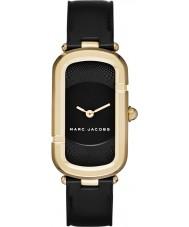 Marc Jacobs MJ1484 Ladies jacob couro preto relógio pulseira