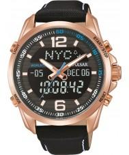 Pulsar PZ4006X1 Relógio do esporte dos homens