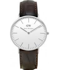 Daniel Wellington DW00100055 Ladies clássico york relógio 36 milímetros de prata