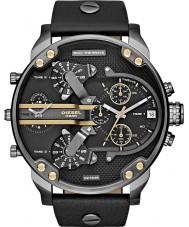 Diesel DZ7348 Mens mr pai relógio multifuncional preto