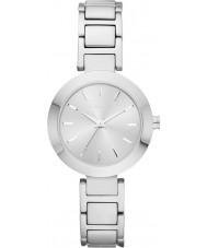 DKNY NY2398 Ladies Stanhope relógio pulseira de aço de prata