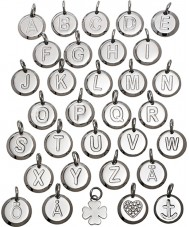 Edblad 116130237-Z Charmentity z prata pequeno pingente