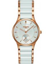 Roamer 677855-49-15-60 Ladies ceraline relógio pulseira de cerâmica branca