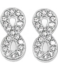 Thomas Sabo H1877-051-14 Ladies zircônia brincos pave infinidade de prata