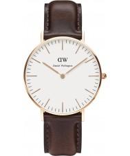 Daniel Wellington DW00100039 Ladies clássico Bristol 36 milímetros subiu relógio de ouro