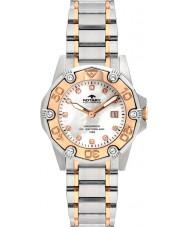 Rotary ALB00033-W-40 Ladies Aquaspeed relógio de dois tons