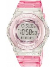 Casio BG-1302-4ER Baby-g relógio cronógrafo-de-rosa