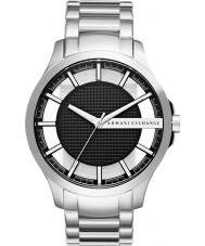 Armani Exchange AX2179 vestido de aço pulseira de prata relógio dos homens