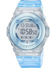 Casio BG-1302-2ER Baby-g relógio azul cronógrafo