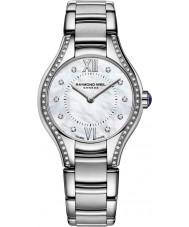 Raymond Weil 5124-STS-00985 Senhoras prata Noêmia relógio de aço do diamante