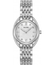 Bulova 96R212 Ladies Diamond Curv Watch