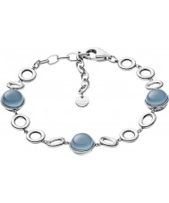 Skagen SKJ1047040 Bracelete de vidro marinho das senhoras
