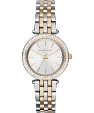 Michael Kors MK3405 Senhoras mini-darci dois tons pulseira de aço relógio