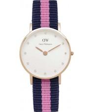 Daniel Wellington DW00100065 Ladies elegante 26 milímetros winchester subiu relógio de ouro