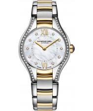 Raymond Weil 5124-SPS-00985 Ladies Noêmia dois tons de aço do diamante do relógio