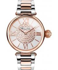 Thomas Sabo WA0257-277-201-38mm Ladies karma dois tons pulseira de aço relógio