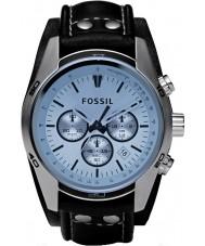 Fossil CH2564 tendência dos homens relógio azul cronógrafo