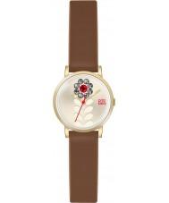 Orla Kiely OK2094 Ladies valentina tan couro relógio pulseira