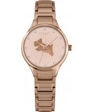 Radley RY4244 Senhoras na corrida subiu banhado a ouro pulseira de relógio