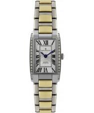 Dreyfuss and Co DLB00052-D-01 As senhoras 1974 de diamante conjunto de dois relógio de aço tom