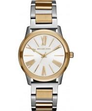 Michael Kors MK3521 Ladies Hartman dois tons pulseira de aço relógio