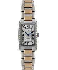 Dreyfuss and Co DLB00055-D-01 As senhoras 1974 de diamante conjunto prata rosa relógio de ouro