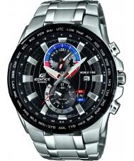 Casio EFR-550D-1AVUEF Mens edifício de aço de prata pulseira de relógio
