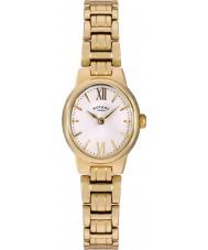 Rotary LB02748-01 Senhoras relógios de ouro olivie relógio banhado