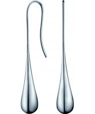 Calvin Klein KJ3QME000100 Ladies elipse aço brincos de prata