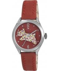 Radley RY2175 Ladies couro vermelho relógio de pulseira