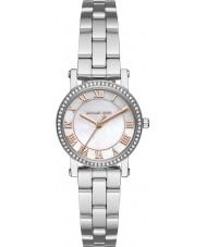 Michael Kors MK3557 Senhoras prata Norie pulseira de aço relógio