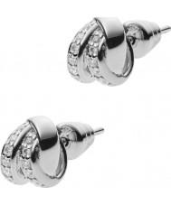 Emporio Armani EG3316040 Ladies Stelle brincos de prata esterlina
