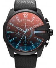 Diesel DZ4323 Mens mega-chefe relógio cronógrafo preto