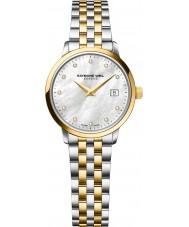 Raymond Weil 5988-STP-97081 Ladies tocata dois tons de aço do diamante do relógio