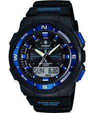 Casio SGW-500H-2BVER Mens coleção bússola relógio preto do combi