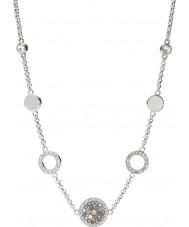 Fossil JF02312040 Ladies Glitz do vintage do colar de prata