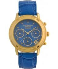 Krug-Baumen 150578DL Relógio de diamante de princesa