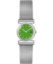Orla Kiely OK4013 Senhoras cecelia malha de prata pulseira de relógio
