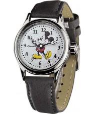 Disney by Ingersoll 25570 Ladies clássico mickey mouse cinza nobuk pulseira de relógio