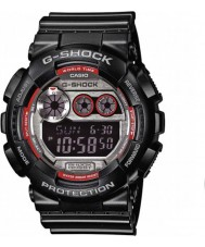 Casio GD-120TS-1ER Mens g-shock tempo do mundo relógio digital preto