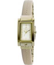 Radley RY2050 Ladies creme costurado relógio com pulseira de couro