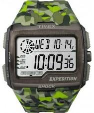 Timex TW4B07200 Mens grade de choque resina verde relógio de pulseira