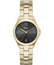 DKNY NY2366 Senhoras Parsons ouro relógio banhado